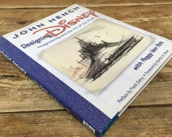 DESIGNING DISNEY by John Hench MINT Condition Hardcover Book  Rare! Imagineering and the Art of the Show Hard to find!