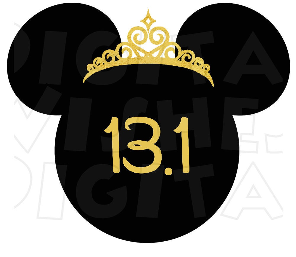 Princess minnie mouse crown 131 disney marathon digital iron zoom biocorpaavc