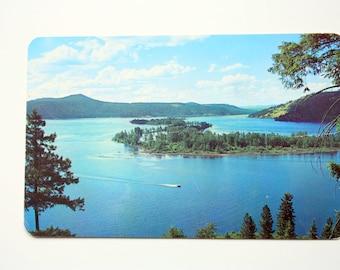St. Joe River and Chatcolet Lake, North Idaho Postcard / Chatcolet Lake postcard