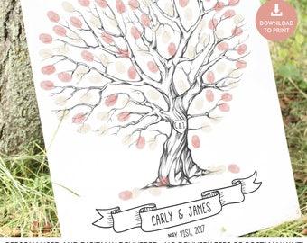 wedding tree, fingerprint tree, thumb print guest book, finger print tree, wedding tree guest book, finger print guest book, thumbprint tree