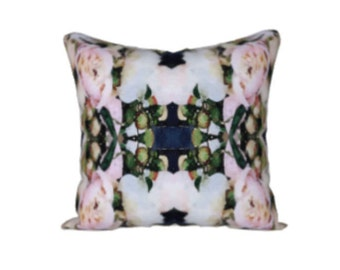 "Peony Love Art Pillow - 18""x18"""