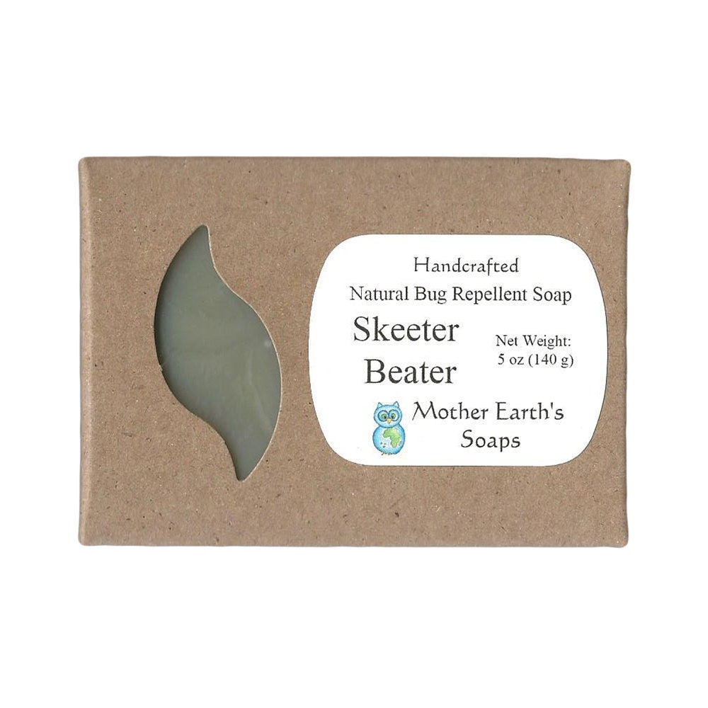 Skeeter Beater Bug Repellent Soap Repel Insects Naturally