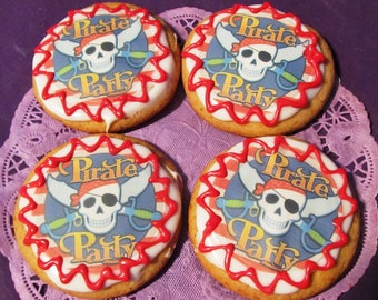 Ahoy Matey Pirate sugar cookies 12