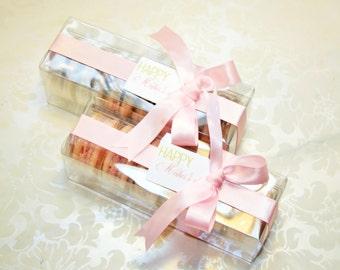 Pink Macaron, French Macaron Box - 1 dozen