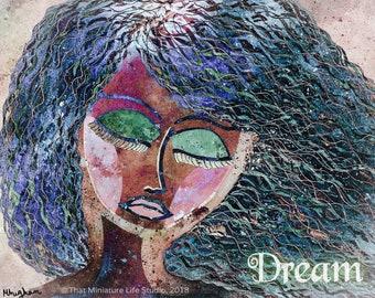 "Misty Dream Art Print, Gallery Wall Print, 8""x10"""