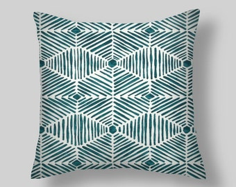 Plantation Blue Pillow Covers, Pillows, Throw Pillows, Pillow Covers, Decorative Pillows