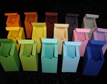 5 x Boxes, Box, Packaging, Favor Boxes, Choose Colors, Choose Quantity, 7x11x7cms, 2 3/4x4x2 3/4,