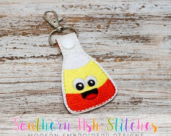 Candy Corn SnapTab Embroidery Digital Download