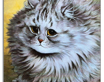 Louis Wain Chubby Cat Mouse Mat Mouse Pad