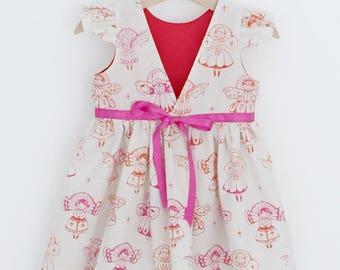 Cara V back dress