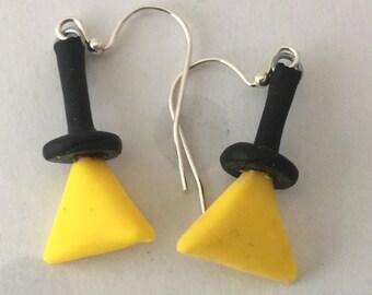 Bill Cipher Earrings