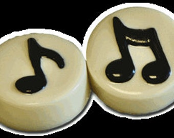 12 Music Note Chocolate Covered Oreos