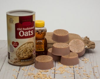 Oats and Honey Soap Detergent Free Goat's Milk