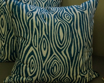 Willow (Aquaris) - Pillow Cover Only 20 x 20 - JD Designs
