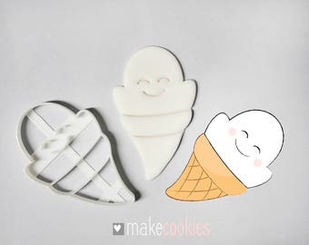Ghost 4 Cookie Cutter