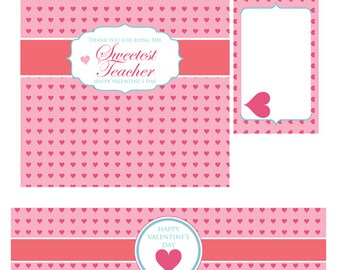 Valentines Day Party Decorations, Valentines Day Printable, Valentines Day Craft