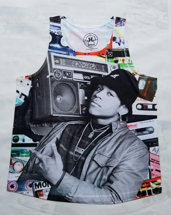 LLCool J Boom Box sublimation T shirt eUSeUa