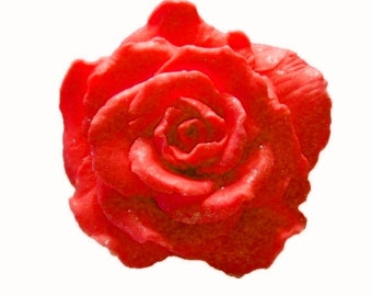 Soaps - Organic Soaps -  Red Roses - Glycerin Soaps  - Flower Soaps   -  Decorative Soaps  - Flower Soaps  -  Choose Your Own Scent