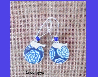 Earring liberty stefan blue