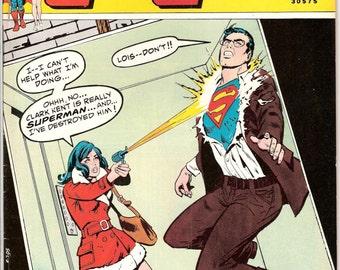 Lois Lane 130, LAST Rose and the Thorn, Superman comic book. Female Superhero, Girlfriend, Vintage Bronze Age. 1973 DC Comics in VF (8.0)