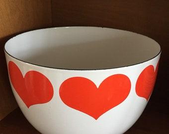 """Finnel heart bowl 5.5"""" tall Kaj Franck"""