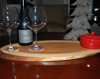 Live Edge Cheese/Wine Board