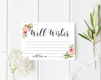 well wishes cards etsy
