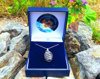 Meteorite Pendant and Necklace [RS6507]