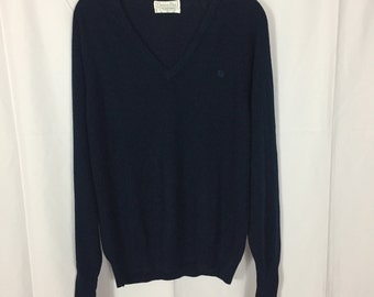 Navy Christian Dior Sweater / Size L