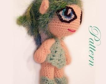 Lola the Green Fairy Pattern