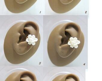 Rose Ear Cuff - Rose Earcuff - Flower Ear Cuff - Flower Earcuff - Nature Ear Cuff - Nature Earcuff - Rose Cuff Earring - Rose Ear Wrap
