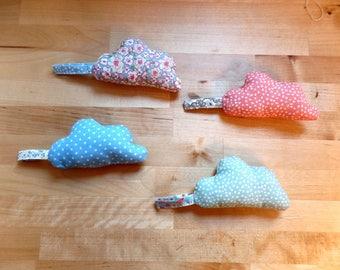 Pincushion fabric hand sewn cloud choice