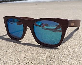 Bamboo Sunglasses Polarized Sunglasses Wood Sunglasses Wooden Sunglasses Wood Glasses Bamboo Glasses Mens Sunglasses Wayfarer Eco Friendly