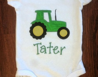 Tractor personalized shirt