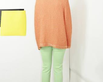 peach TEXTURED button down super stretch blouse xxl