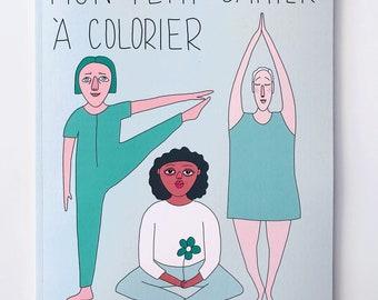 Mon petit cahier à colorier - Cahier d'activités pour enfants