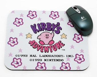 NES Mouse Pad - Kirby's Adventure