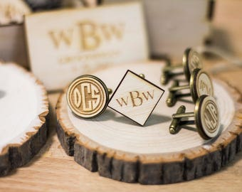 Father of the Bride Gift - Personalized Cufflinks as Personalized Gift Father of the Bride Gifts, Wedding Gift as Best Man Gift. Groom gift.