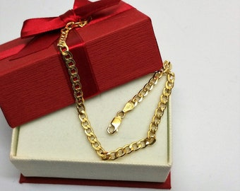 Bracelet Gold 585 Elegant rar GA111