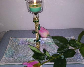 Tea light candle stand