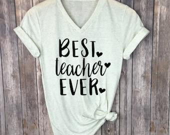 Best Teacher Ever svg, Svg for teacher, teacher appreciation svg, teacher cutting file,  teacher shirt svg, elementary teacher svg