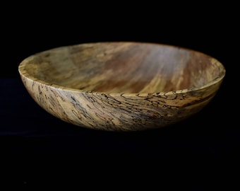 Very large Spalted Sweet Gum Bowl