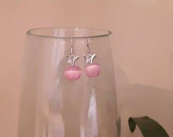 Candy Apple earrings