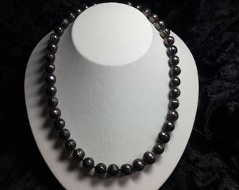 Pearl Necklace 14 kt Gold Clasp