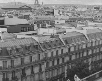 Paris seen from Laffayette Galleries - Film Photography Print