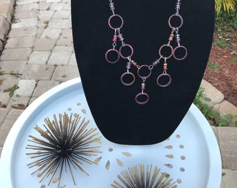 Circles and crystals in pink, oh my!