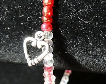 Heart Silver Bracelet