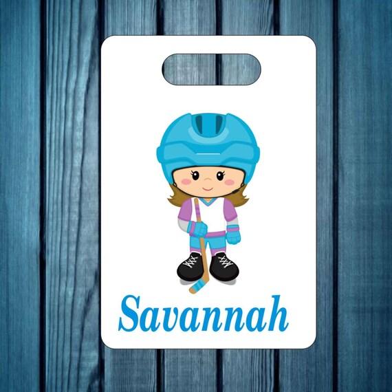 backpack tag, girls baseball tag, gym bag tag, lunch box tag, sports tag, custom tag, girls tag, personalized tag