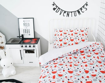 Twin Bedding, Bedding Set, Duvet Cover, Kids Bedding, Twin Duvet Cover, Twin Bedding Set, Toddler Duvet Cover, Twin Duvet, Twin Bedding Boy