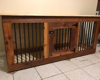Wooden Double Dog Kennel Diy Plans Medium Size